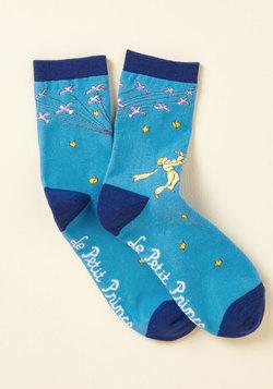 So Far as to Francais Socks