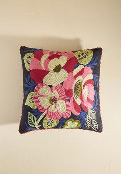 Hopin' and Stitchin' Pillow
