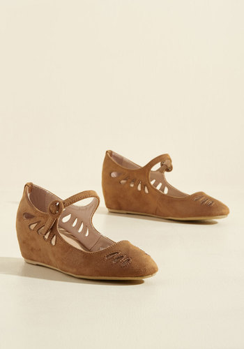 1940s Style Shoes A Leap of Their Own Wedge $39.99 AT vintagedancer.com