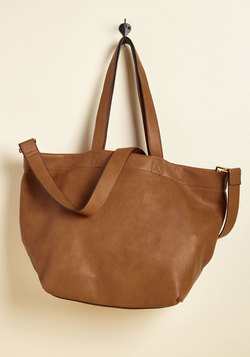 ModCloth Transport of Call Bag (Caramel)