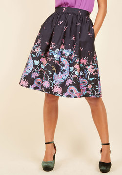 Style Study A-Line Skirt in Legendary