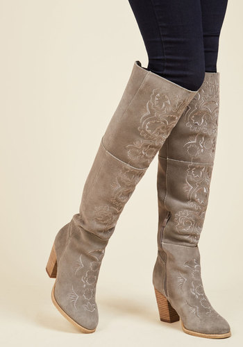 Empowered Artistry Suede Boot
