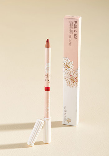 Define Expectations Dual Lip Liner in Japanese Maple by Paul & Joe - Pink, Party, Work, Casual, Cocktail, Winter, Better, Store 1, Valentine's