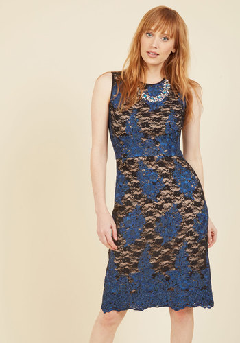 Elegant All Over Lace Dress