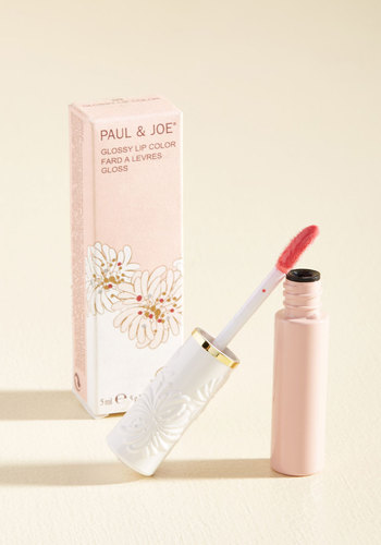 Shine Will Tell Lip Gloss in Pink by Paul & Joe - Pink, Party, Work, Casual, Cocktail, Winter, Better, Store 1, Valentine's