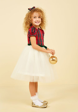 Plaid to Be Here Dress - 2T-8Y