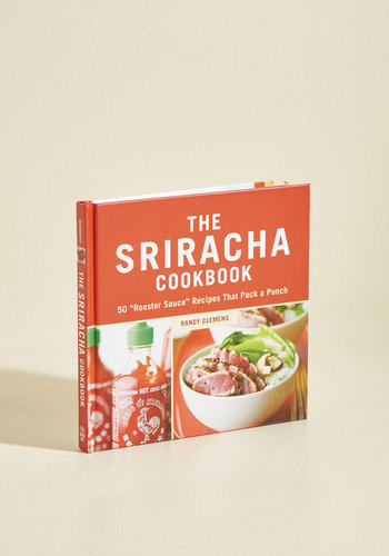 The Sriracha Cookbook - Multi, Red, Handmade & DIY, Good, Summer, Hostess, Food, Top Rated, Gifts2015, Guys, Unisex Gifts, Under 25 Gifts, Unique Gifts, Tis the Season Sale