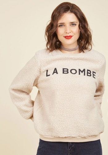 Le Fleece, C'est Chic Sweatshirt