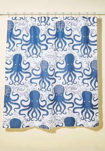 You Are Who You Arm Octopus Shower Curtain