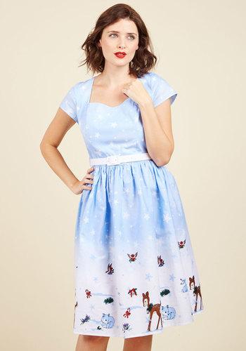 Vintage Inspired Wedding Dresses Work Wonderlands Cotton Dress $79.99 AT vintagedancer.com