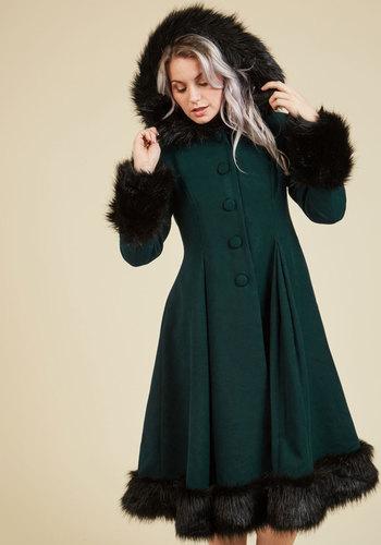 Retro Vintage Style Coats, Jackets, Fur Stoles Northeast Nobility Coat $229.99 AT vintagedancer.com