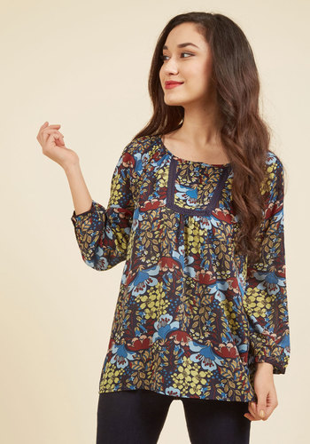 Readily Reminiscent Floral Top