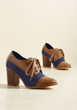 Eclectic Effortlessness Block Heel
