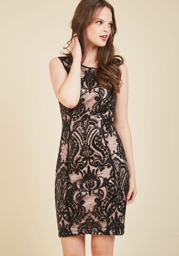 Evoke Baroque Sequin Dress