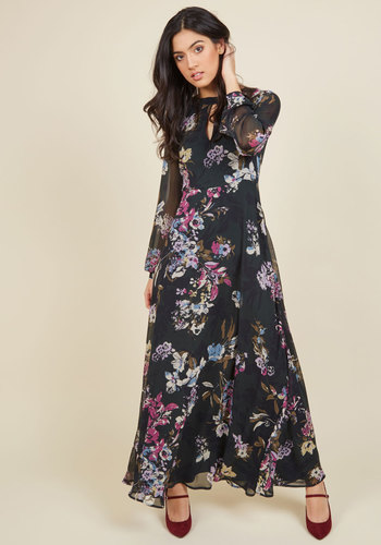 Come and Sway Awhile Maxi Dress