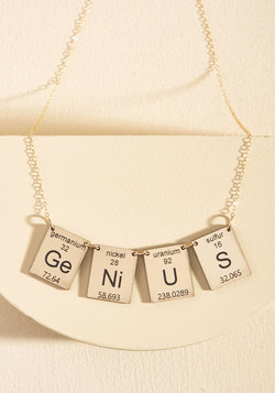 Element in the Room Necklace in Smarts