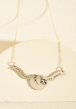 Don't Worry, Tree Happy Necklace