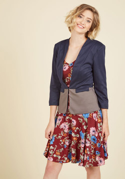 Command the Conference Room Blazer in Navy