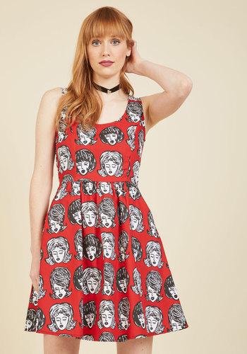 Im Wiggin Out! A-Line Dress