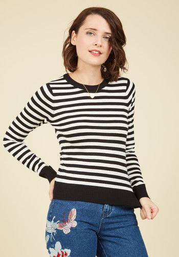 Classic Attraction Striped Sweater