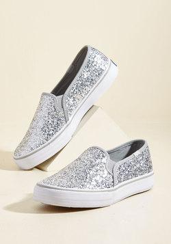 'Til the Glitter End Slip-on Sneaker