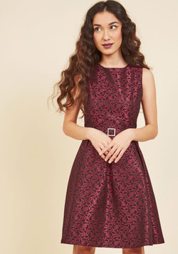 Plentiful Social Plans A-Line Dress