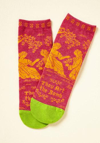 Bard Act to Follow Socks
