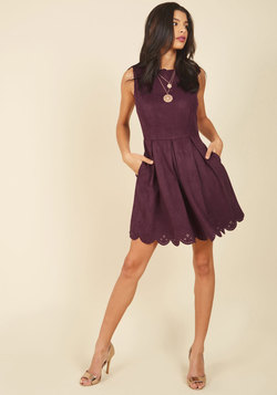 Spin Me Right Renowned Mini Dress
