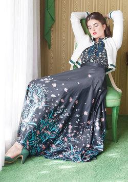 Arose Such a Classic Maxi Skirt