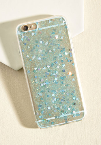 Sparkle a Convo iPhone 6/6s Case in Hearts