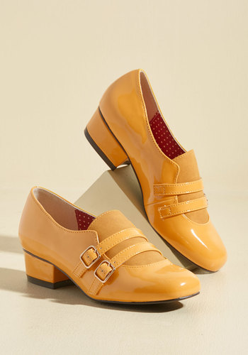 Panache From the Past Block Heel