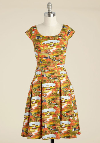 Good Times Had by Fall A-Line Dress