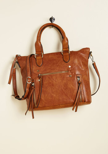 Be on My Carry Way Bag - Brown, Work, Casual, Boho, 70s, Rustic, Scholastic/Collegiate, Fall, Winter, HP Featured