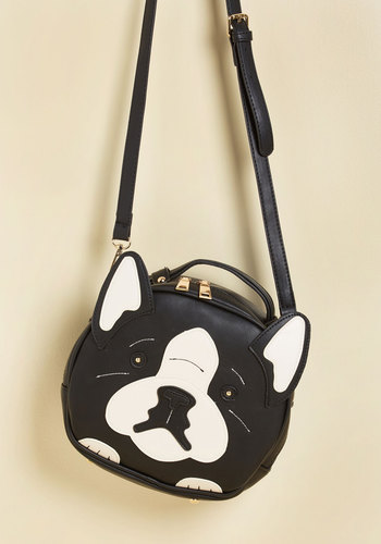 Stand as Living Woof Bag - Critter Gifts, Under 50 Gifts, Black, Casual, Statement, Quirky, Critters, Dog, Fall, Winter