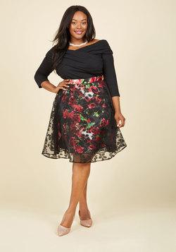 Secret Garden Floral Skirt