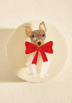 Pooch Your Luck Resin Pin