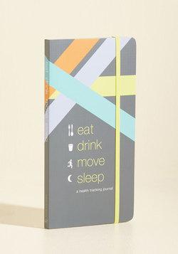 Eat Drink Move Sleep Health Tracking Journal