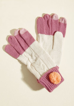 Two Poms Up Gloves