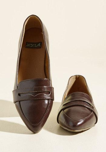1950s Style Shoes Outspoken For Vegan Loafer $34.99 AT vintagedancer.com