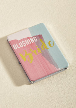Keep in Touch-Up Compact Mirror in Bride