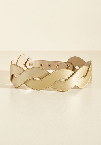 Get In Touch With Your Helix Belt in Gold - Gold, Special Occasion, Party, Girls Night Out, Wedding Guest, Summer, Better, Work, Solid, Vintage Inspired, 70s