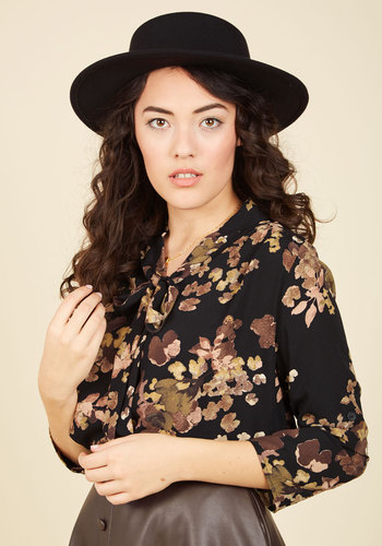 I Just Hat To in Black - Black, Casual, Vintage Inspired, Winter, Better, Solid