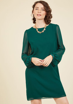 Essence of Excellence Shift Dress