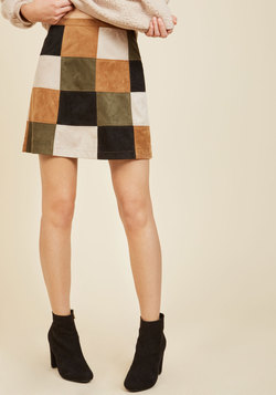 Not a Square in the World Mini Skirt