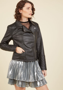 Means to an Edge Jacket in Black
