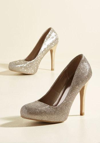 Shop Pin Up Shoes Shimmering Significance Heel $39.99 AT vintagedancer.com