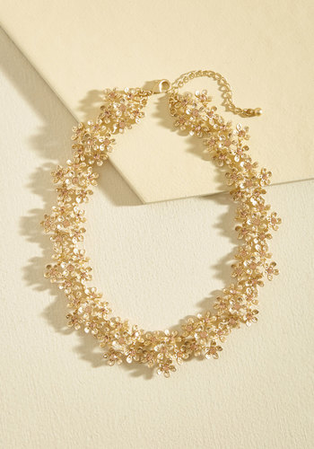 1960s Costume Jewelry – 1960s Style Jewelry Within Your Wreath Necklace $39.99 AT vintagedancer.com