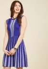 By Advocate or Design Sweater Dress in Cobalt