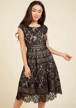 Sophisticated Specialty Lace Dress