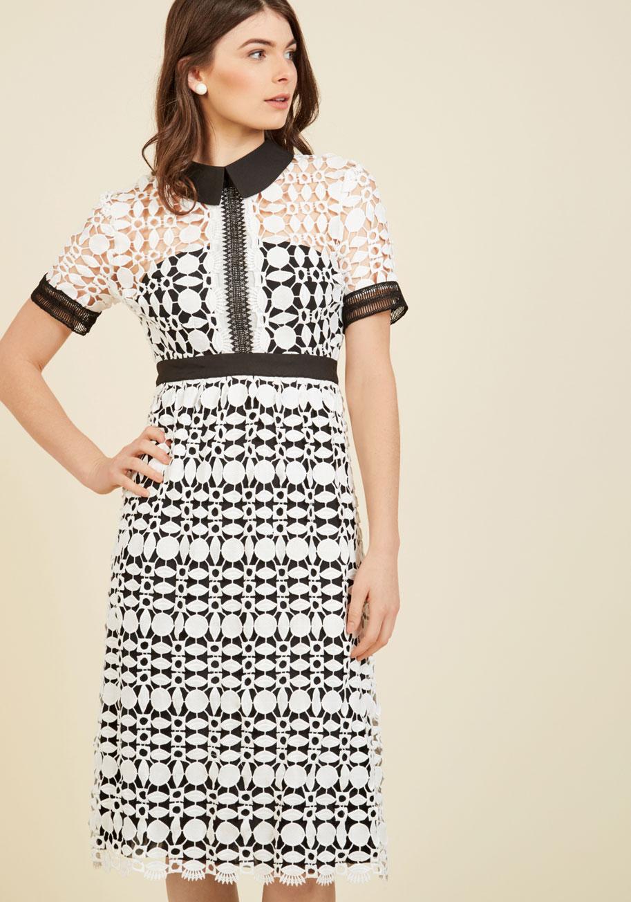 Classic cornerstone midi dress mod retro vintage dresses for Midi shirt dress black
